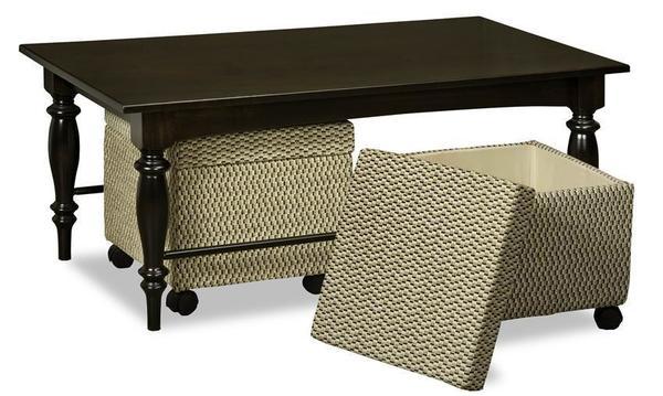 Amish Bridget Coffee Table Set