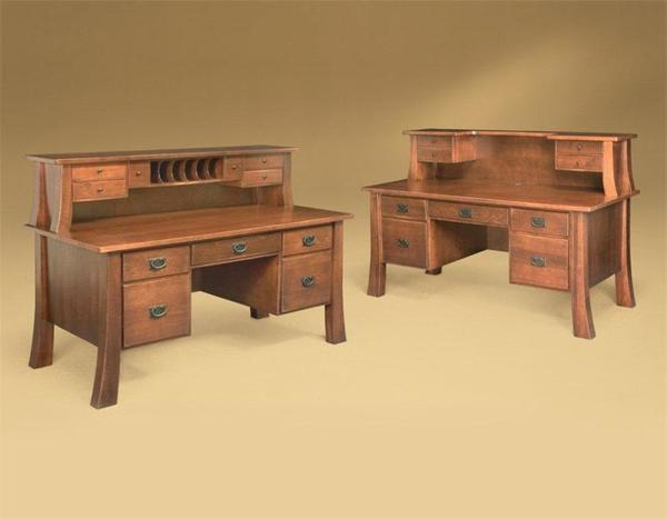 Amish Office Furniture Witmer Shaker Executive Desk