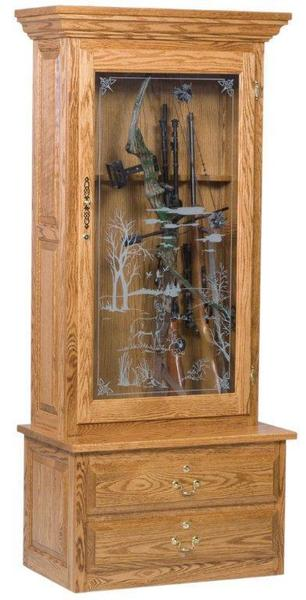 American Gun and Bow Cabinet