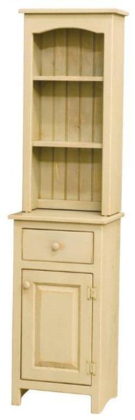 Amish Pine One Door Hutch