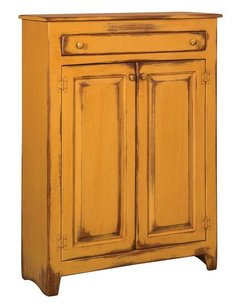 Amish Pine Wood Large Pie Safe