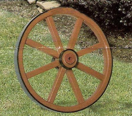 "Outdoor Decor - 11"" Plastic Wheel"