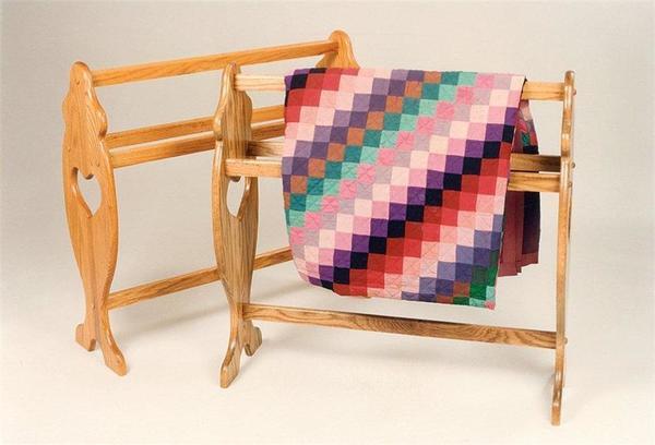 Amish Deluxe Quilt Rack