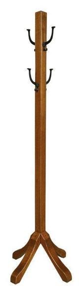 Amish Standing Wood Mission Coat Rack