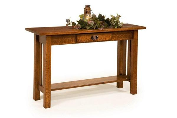 Amish Classic Mission Deluxe Sofa Table