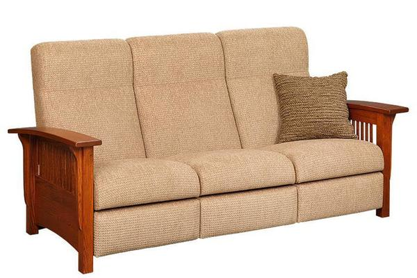 Amish Paradise Mission Reclining Sofa