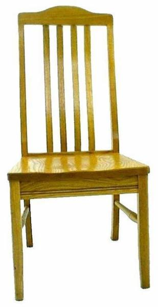 Amish Shaker Dining Room Chair with Arched Top
