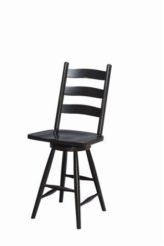 Amish Galloway Shaker Swivel Barstool