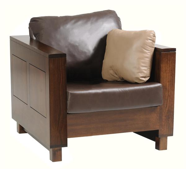 Amish Urban Living Room Lounge Chair