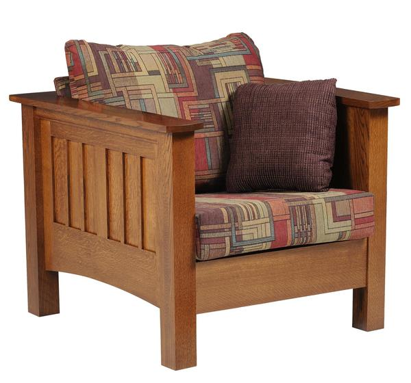 Amish Mount Hope Mission Lounge Chair