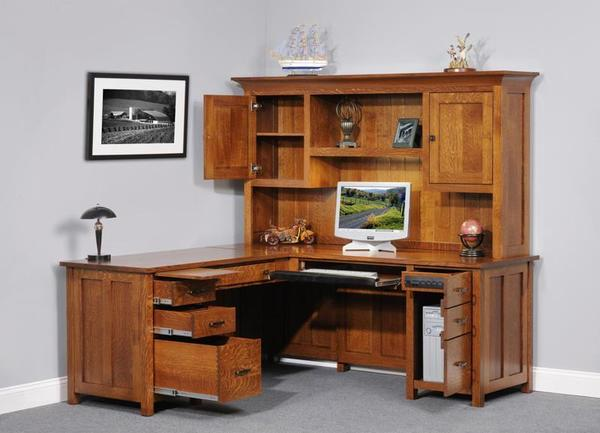 Coventry Mission Corner Desk From Dutchcrafters Amish