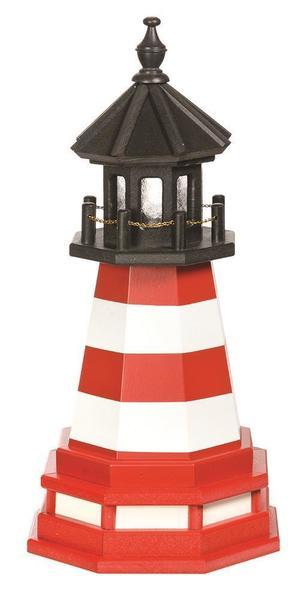 Amish Assateague VA Wooden Garden Lighthouse
