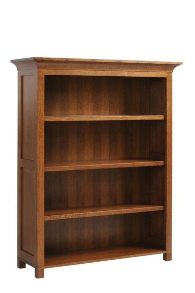 "Amish Coventry Mission 48"" Bookcase"