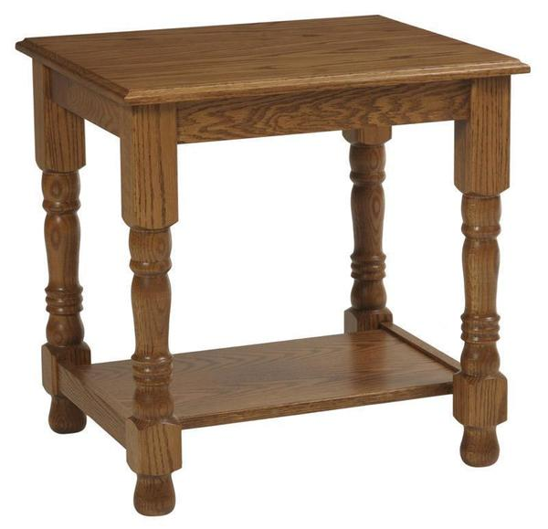 Amish Traditional Occasional End Table