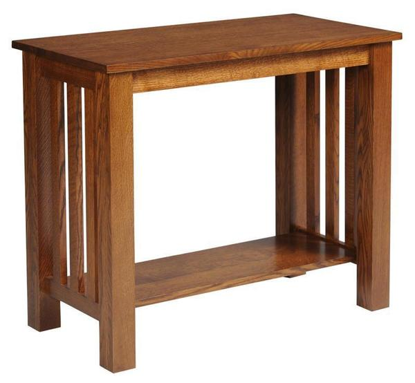 Sensational Amish Arts And Crafts Mission Sofa Table With Drawer Ibusinesslaw Wood Chair Design Ideas Ibusinesslaworg