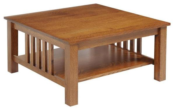 Amish Mount Hope Mission Square Coffee Table