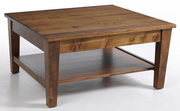 Amish Urban Shaker Square Coffee Table