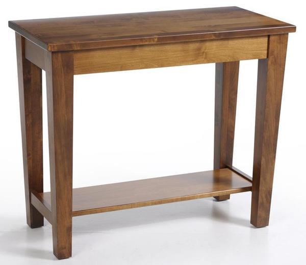Amish Urban Shaker Sofa Table