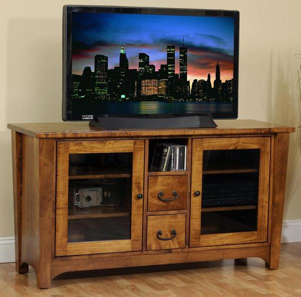 Amish Urban Shaker Flat Screen TV Stand