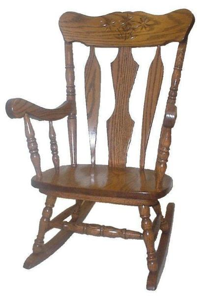 Amish Daisy Kids' Rocking Chair