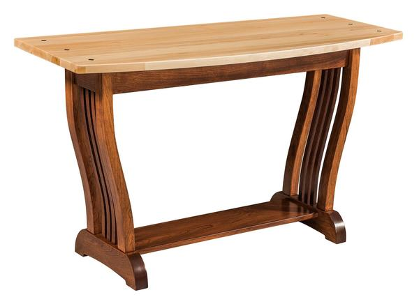 Amish Regal Mission Sofa Table