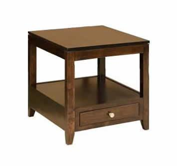 Amish Zurich Large End Table