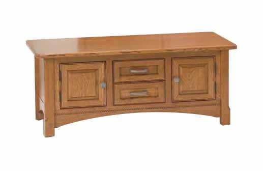 Amish Salzburg Cabinet Coffee Table