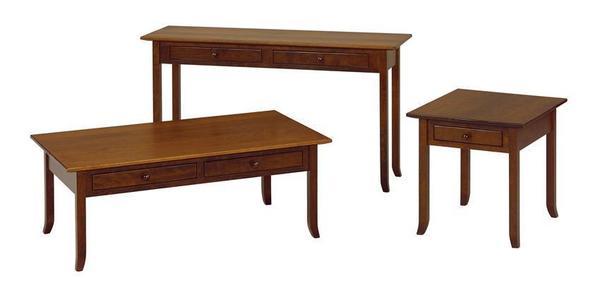 Amish Berkely Shaker Sofa Table
