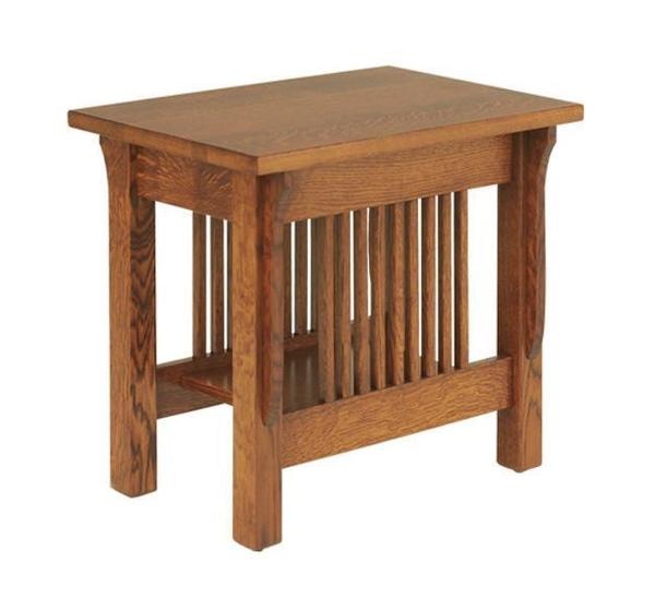 Amish Lancaster Mission Small End Table