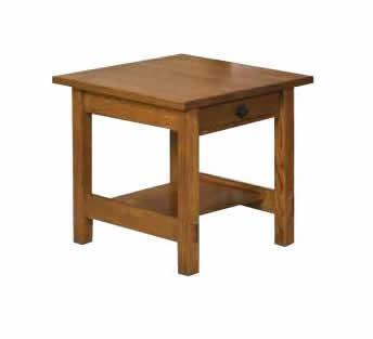 Amish Lucern Mission End Table