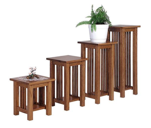 Amish Lancaster Mission Plant Stand