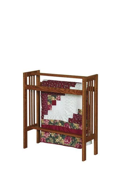 Mission Amish Quilt Rack From Dutchcrafters Amish Furniture