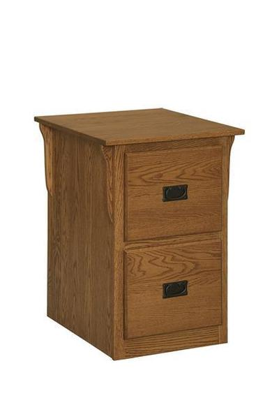 Amish Solid Panel Mission File Cabinet Choose Size
