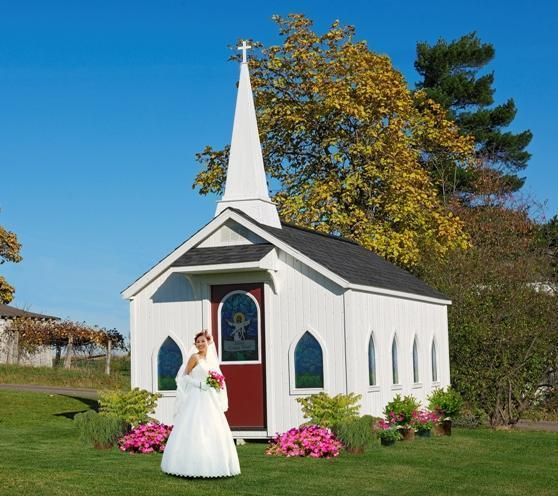 Amish DIY Kit Little Cottage Chapel Playhouse