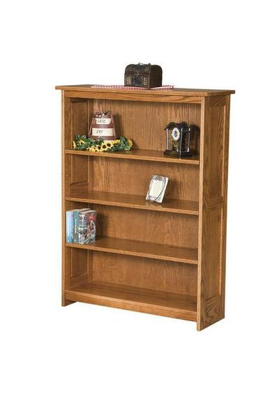 Amish Mission Panel Bookcase