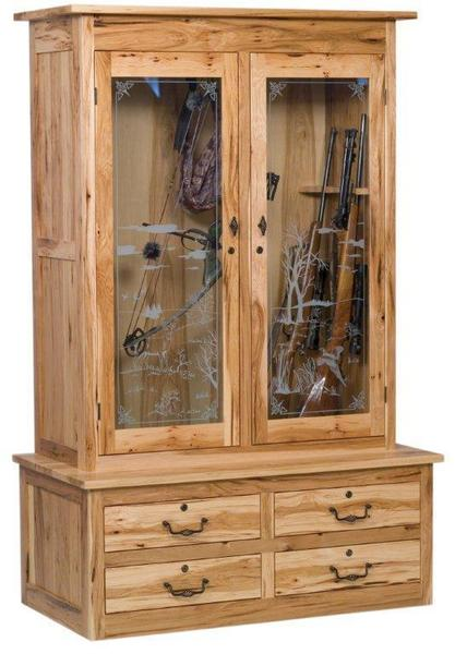 American Bow Hunter Double Door Gun Cabinet