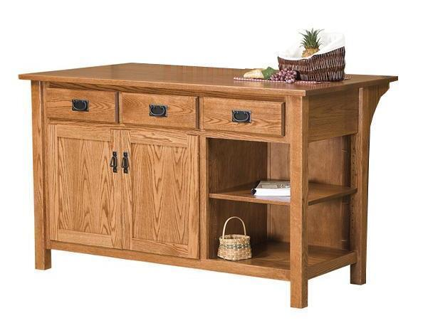 Ask Us A Question Amish Arts And Crafts Mission Kitchen Island