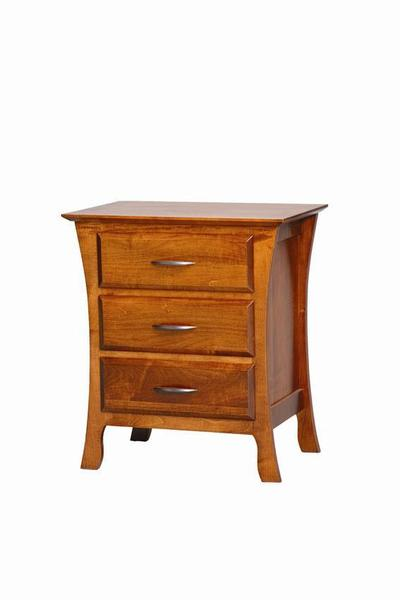 Amish Brooklyn 3 Drawer Night Stand