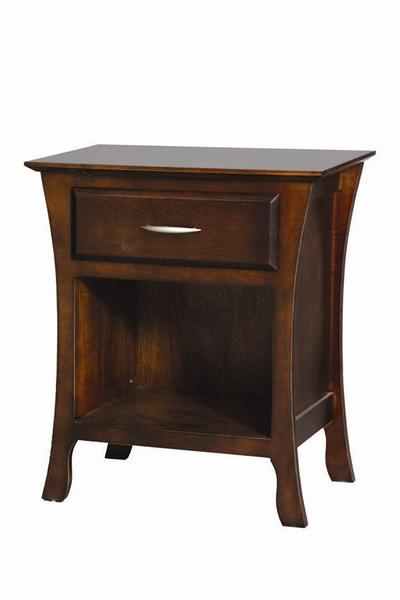 Amish Brooklyn Open Bottom Night Stand