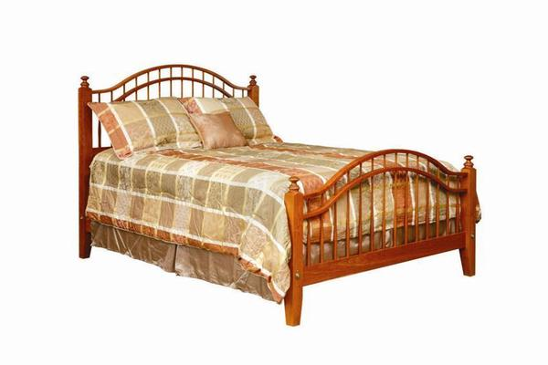 Amish Made Early Shaker Windsor Bed