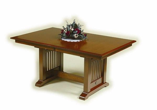 Amish American Mission Dining Room Table
