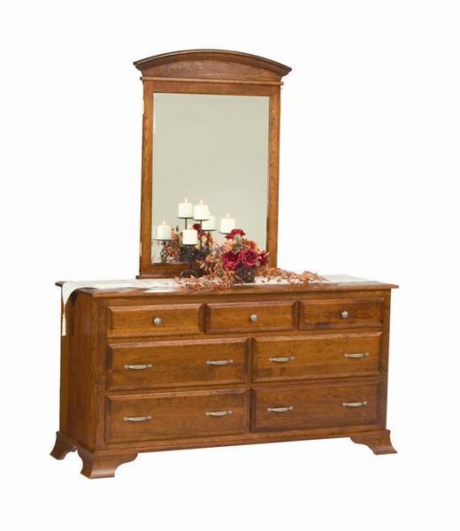 Amish Mannington Double Dresser