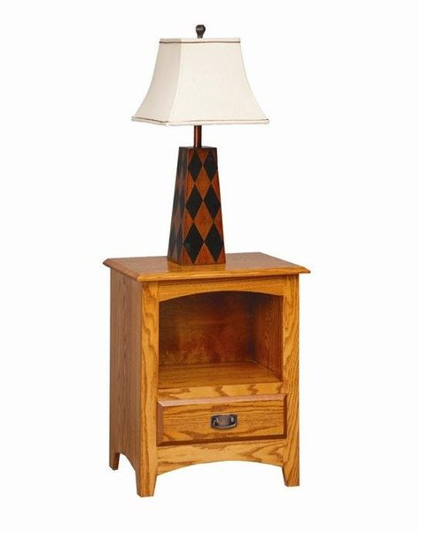 Amish Monterey Nightstand with Opening