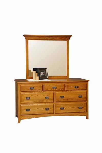 Amish Monterey Double Dresser