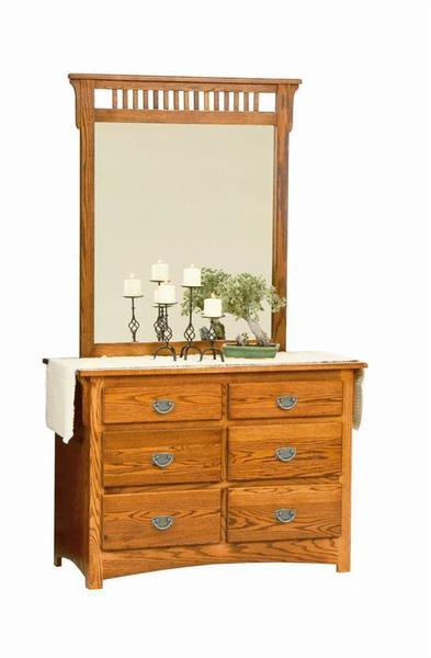 Amish Mission Single Dresser