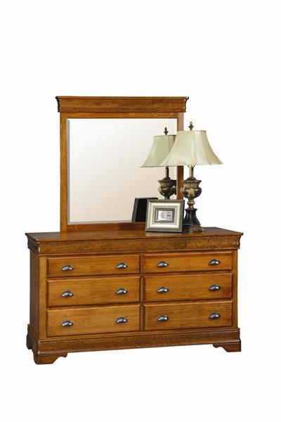 Amish Chantilly Double Dresser