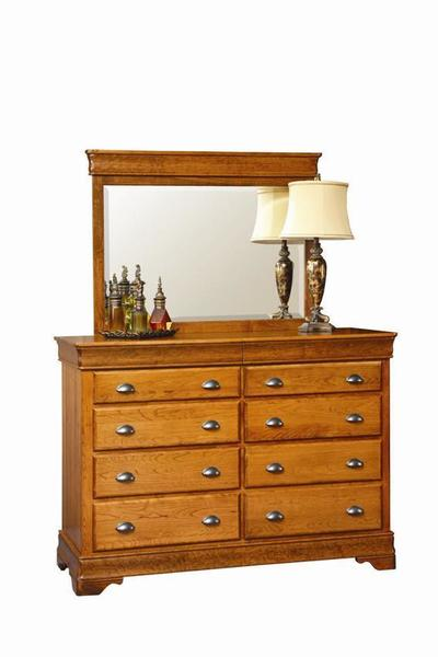 Amish Chantilly Master Dresser