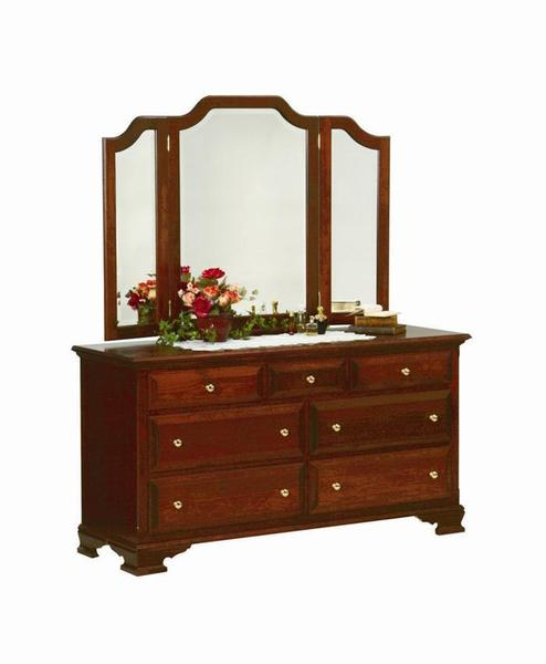 Amish Royal Classic Double Dresser