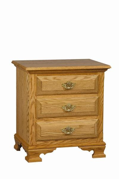 Amish Royal Classic 3 Door Night Stand