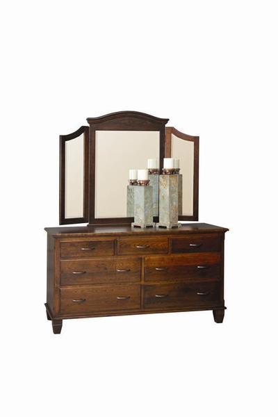 Amish Covington Double Dresser